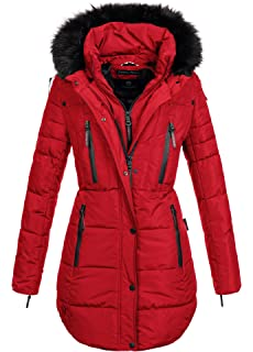 Geographical norway damen jacke winterparka bellissima xl fellkapuze