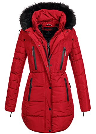 Lange warme winterjacke damen