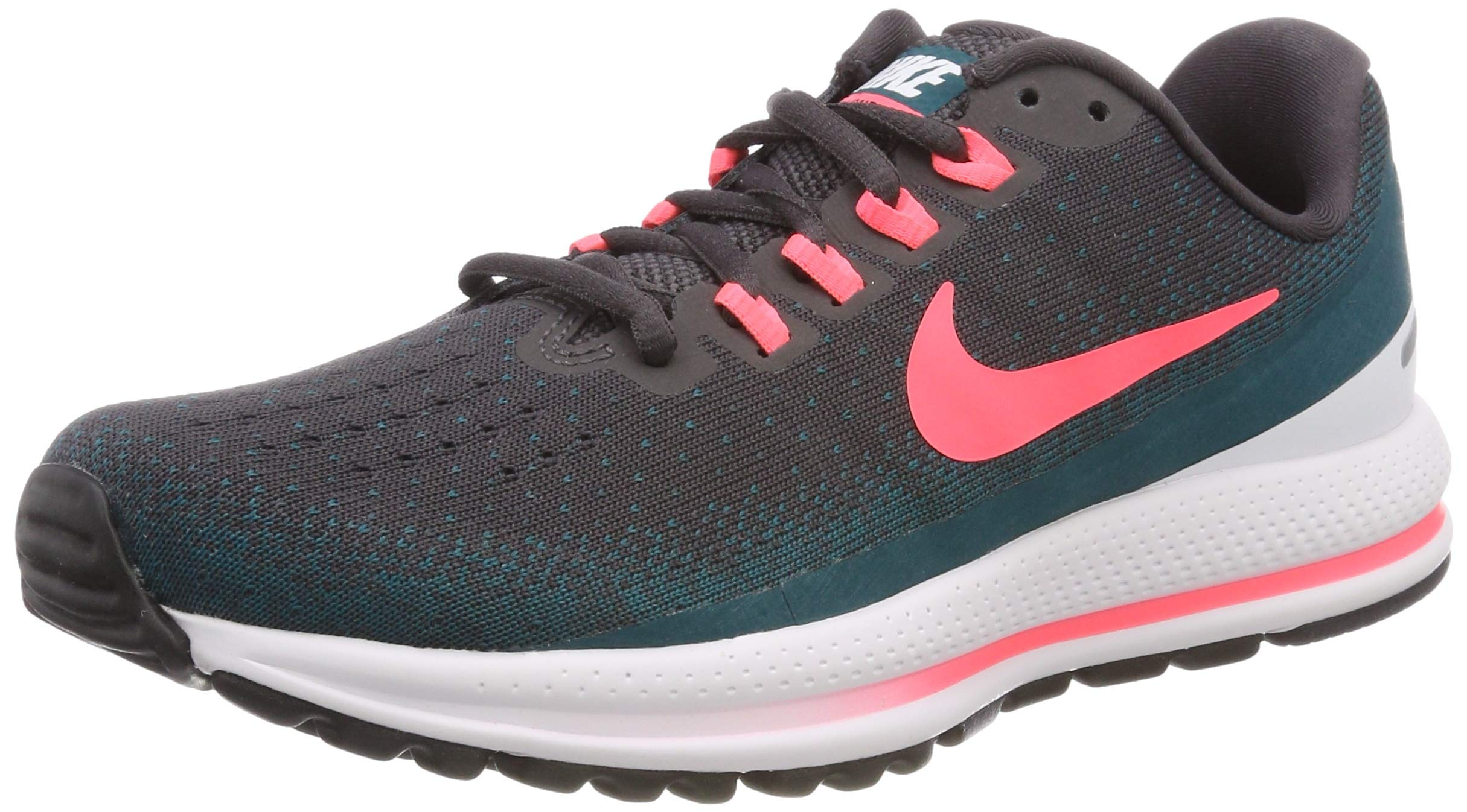 daed1ed423ac1 Galleon - Nike Women s Air Zoom Vomero 13 Running Shoe Thunder Grey HOT  Punch-GEODE Teal-White 8.5