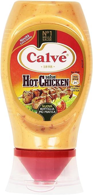 5 opinioni per Calvã©- Salsa Hot Chicken- 250 Ml