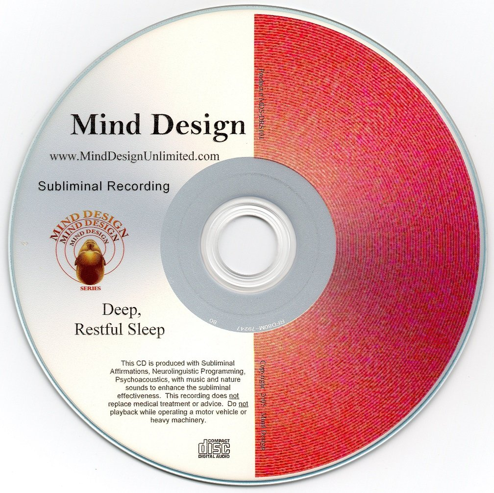 Deep and Restful Sleep Subliminal CD - Get Healthy Sleep with this Natural Remedy!!