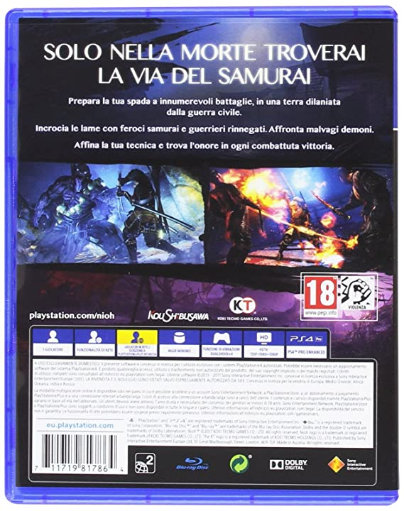 NioH - PlayStation 4 [Importación italiana]: Amazon.es ...