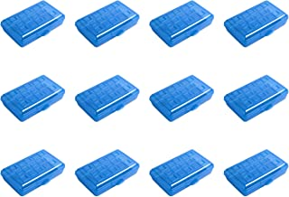 product image for Sterilite 17224812 Small Pencil Box, Splash Tint, 12-Pack