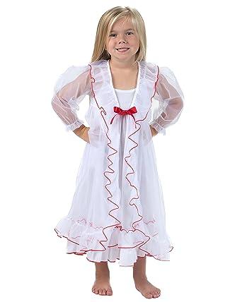 566b429981 Amazon.com  Laura Dare Youth Girls Sweet Princess Peignoir Nightgown ...
