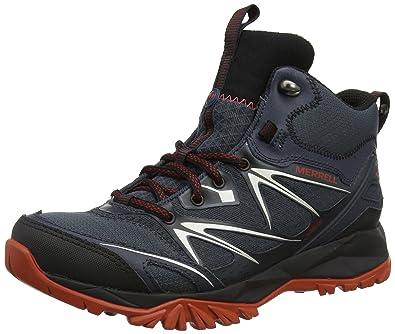 Merrell Capra Bolt Mid GTX Men's Hiking Boot, Black, ...