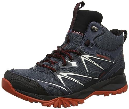 Merrell Capra Bolt Mid Gore tex, Chaussures de Randonnée Hautes Homme