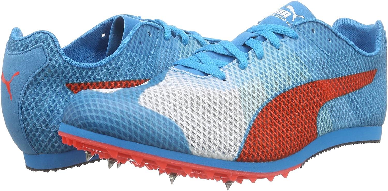 Puma Evospeed Star v4, Zapatillas de Running para Hombre, Blanco Atomic Blue Red Blast 01, 45 EU: Amazon.es: Zapatos y complementos