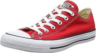 Converse Unisex Chuck Taylor Classic Sneaker (6,5B (M) US), color rojo