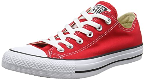 Chuck Taylor All Star, Unisex-Adults Trainers, Red, 5.5 UK (38 EU) Converse