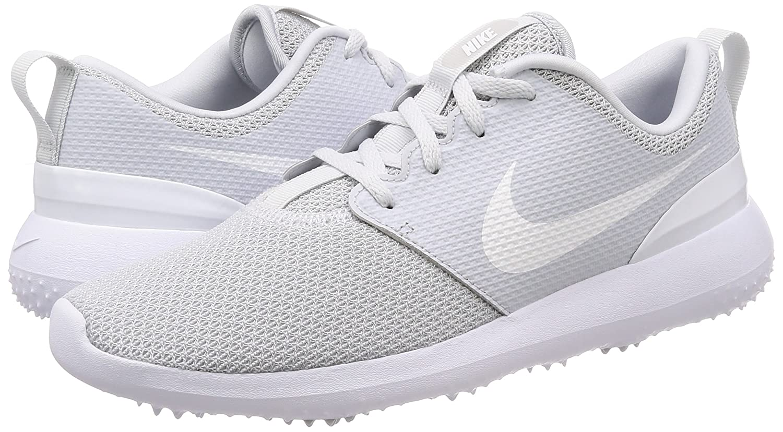 online store e5adc ae5fb Amazon.com | Nike Men's Roshe G Golf Shoe Pure Platinum/White Size 7 M US |  Golf