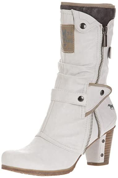 Chaussures Mustang blanches Fashion femme FrMHhRZ35