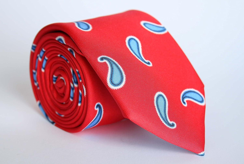 Alvaro Moreno, Corbata Estampada, color Rojo: Amazon.es: Ropa y ...