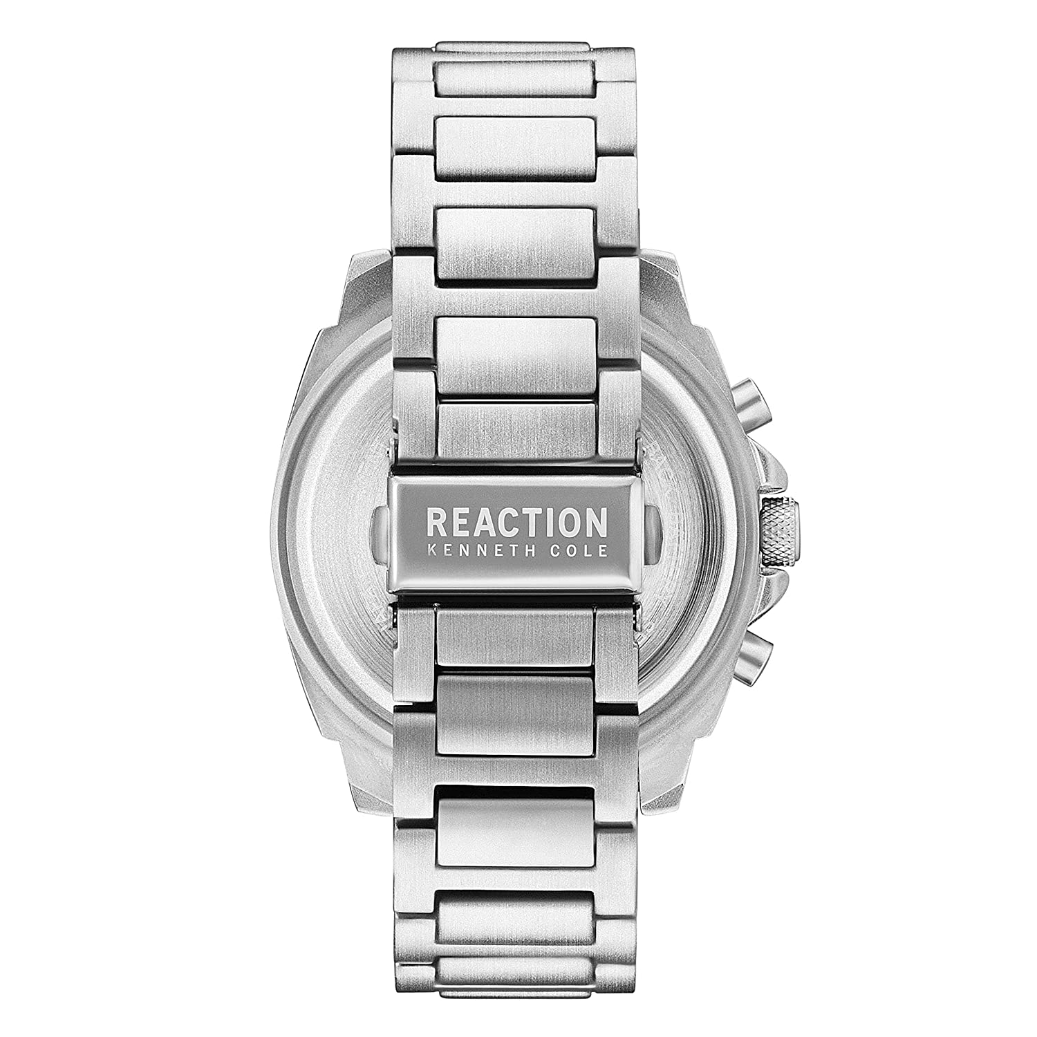 Amazon.com: Kenneth Cole REACTION Mens Sport Analog-Quartz Watch with Stainless-Steel Strap, Silver, 23 (Model: 10031947: Watches