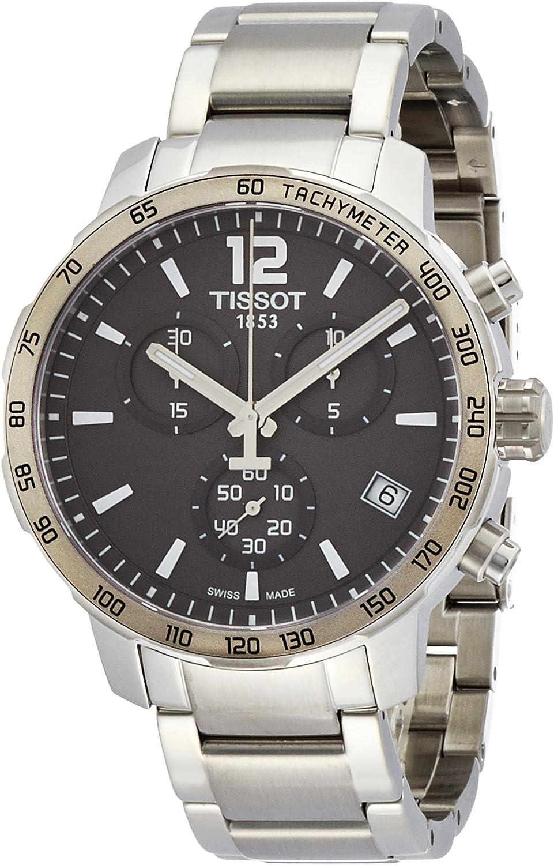Tissot Men s T0954171106700 Quickster Stainless Steel Watch