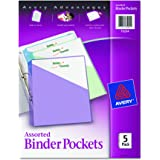 Avery Binder Pockets, Acid Free, Pack of 5 (75254)