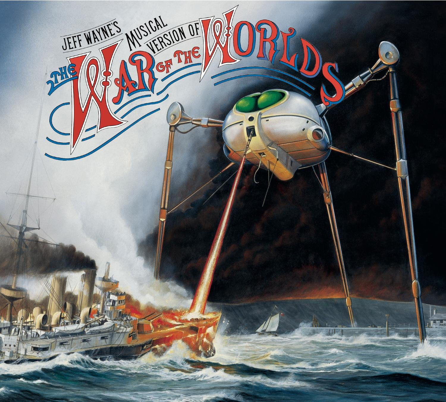 Image result for jeff wayne war of the worlds