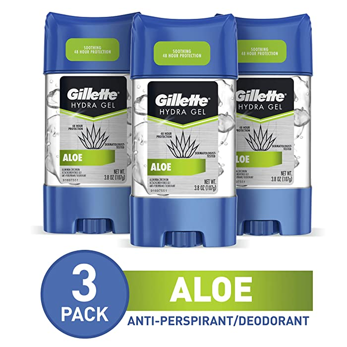 Top 9 Gillette Power Rush Clear Gel