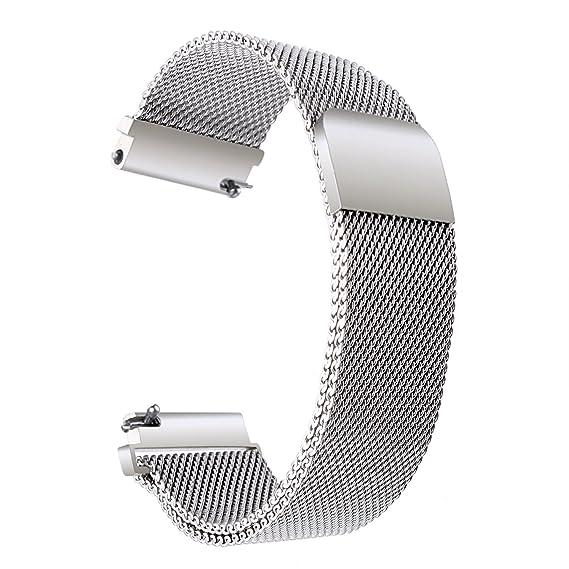 Pour WatchWithings Trumirr Q Huawei Bracelet Sangle 18mm TailorLg Magnétique ActiviteacierpopFossil Boucle Serrure Uhrenart36mm Du Montre iuPZOkXT