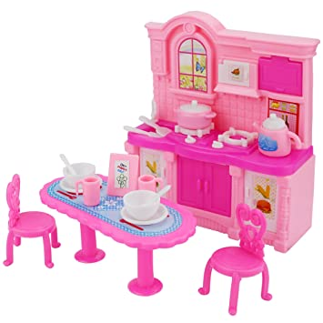 Amazon.com: 26 Pcs Doll Kitchen Accessories Dining table chair ... on kitchen dining contemporary, kitchen backyard ideas, kitchen dining cabinets, kitchen tv room ideas, kitchen storage room ideas, kitchen breakfast counter ideas, kitchen library ideas, kitchen dining fireplace, kitchen under stairs ideas, kitchen wall space ideas, kitchen mud room ideas, family room room ideas, kitchen dining garden, living room ideas, kitchen dining interior design, kitchen breakfast room ideas, kitchen staircase ideas, kitchen rugs ideas, kitchen dining home, kitchen back porch ideas,