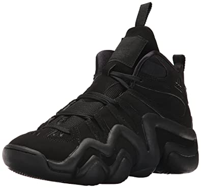 adidas Originals Men's Crazy 8 Basketball Shoe, Black/Black/Black, ...