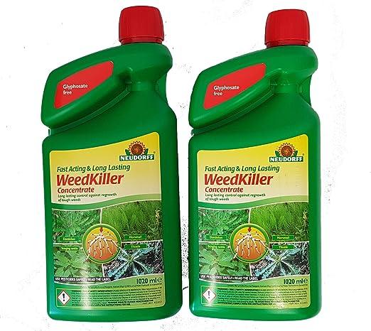 Herbicida concentrado, de Neudorff, actúa muy rápido, de larga ...