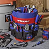 WORKPRO Bucket Tool Organizer with 51 Pockets