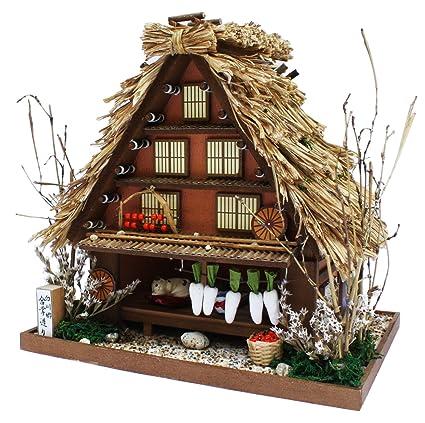 Amazon Com A Frame 8611 Billy Handmade Dollhouse Kit Road Series