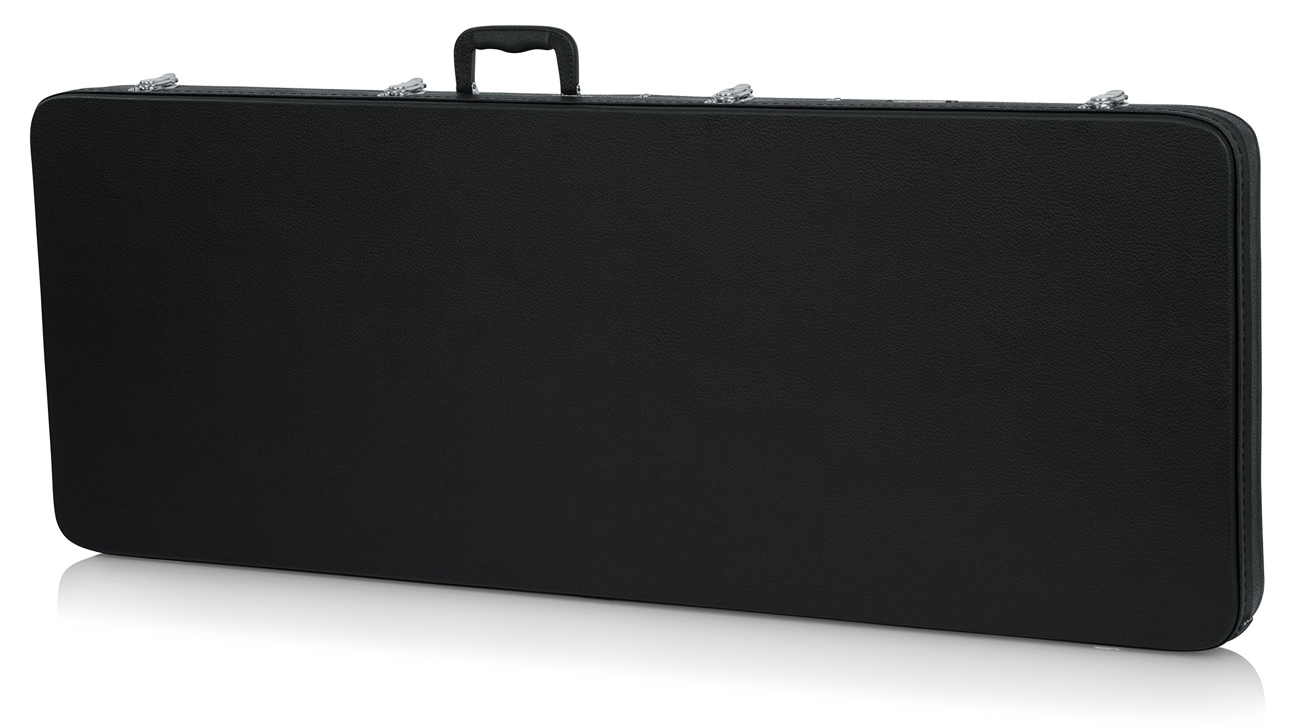Gator Cases Hard-Shell Wood Case for Extreme Shaped Guitars; Fits Explorer, Flying V, BC Rich, & More (GWE-EXTREME) by Gator