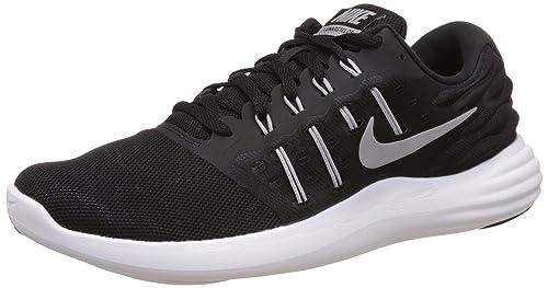 detailed look 548b5 c2d6c Nike 844591 001, Zapatillas de Deporte Unisex Adulto, (BlackMtllc Silver  Anthrct Wht), 44 EU Amazon.es Zapatos y complementos
