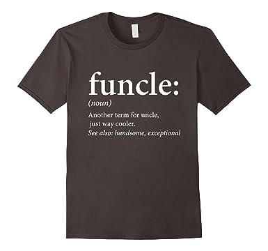 Amazon.com: Mens Funcle Shirt - Cool & Funny Uncle T-Shirt: Clothing