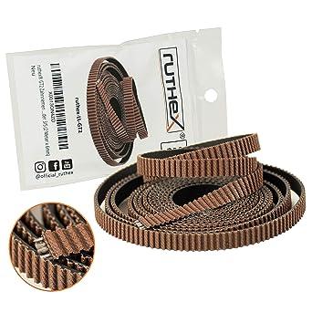 ruthex® GT2 correa dentada (2m x 6mm) | Cuerda de tracción de ...