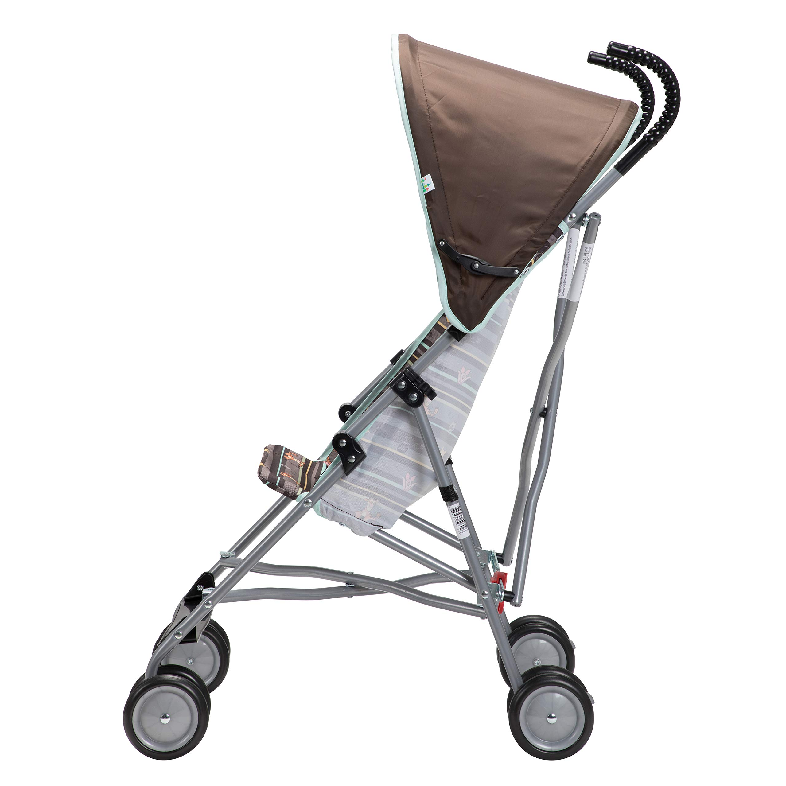 Disney Baby Winnie-the-Pooh Umbrella Stroller with Canopy (My Hunny Stripes) by Disney (Image #7)