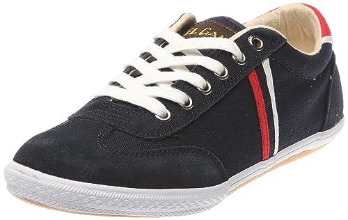 El Ganso Tennis Gold_Marine - Zapatillas de tela para hombre, color azul, talla 43: Amazon.es: Zapatos y complementos