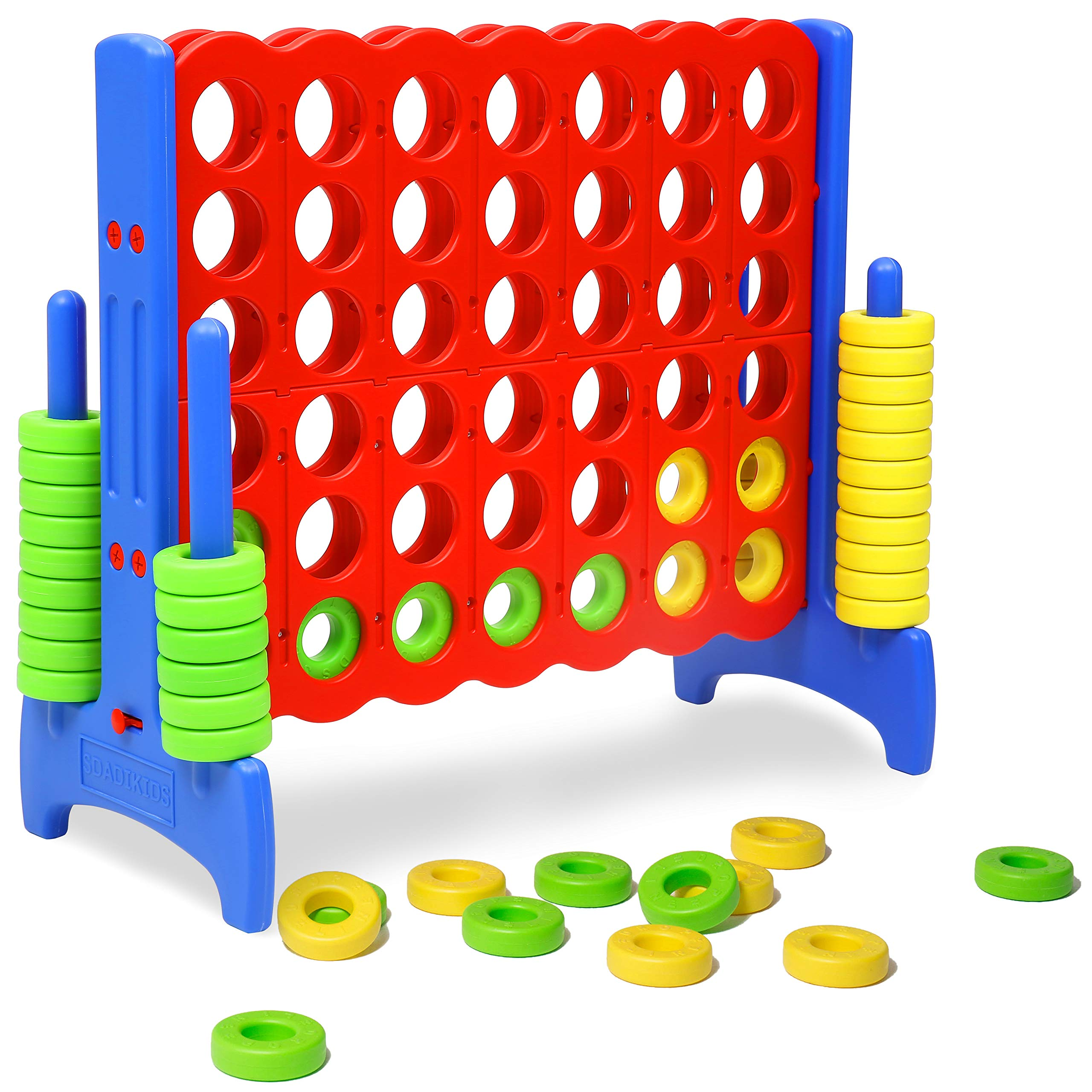 Giant Connect 4 in a Row Game for Kids and Adults Family Connect Four Game Indoor Outdoor DSZQ01R