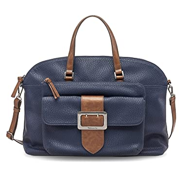 S6qd6 Sac Bleu Tamaris Lee Business Amazon Femme Bowling Pour Bag H2W9EDYI