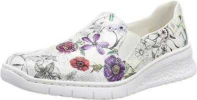 Rieker 58166 90, Mocassins Femme: : Chaussures et Sacs
