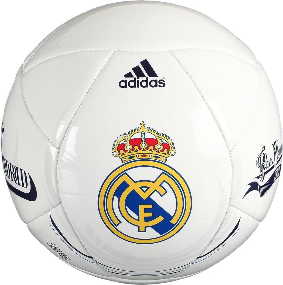 adidas Real Madrid - Balón de fútbol para hombre, talla 5, color ...
