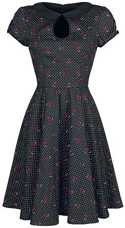 548c9d61e0b Hell Bunny Sophie Mid Dress Dress Black  Amazon.co.uk  Clothing