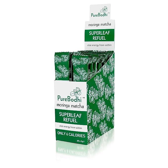 Matcha enriquecido con Moringa de PureBodhi - 20 porciones: Amazon.es: Salud y cuidado personal