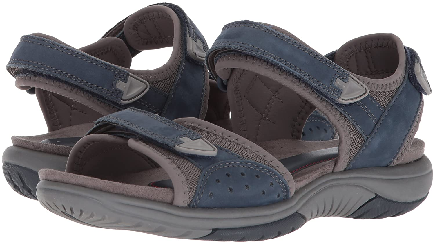 Rockport Women's Franklin Three Strap Sport Sandal B073ZTRPX5 7 B(M) US|Blue