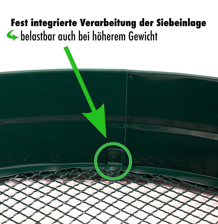 Gartensieb Erdsieb//Bodensieb zum aussieben von Erde Kompost und Aussehen von Saatgut