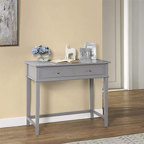 Ameriwood Home Franklin Writing Desk, Gray