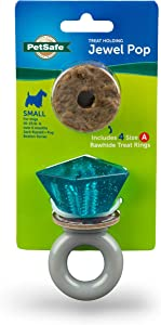 PetSafe Jewel Pop Treat Holding Dog Toy