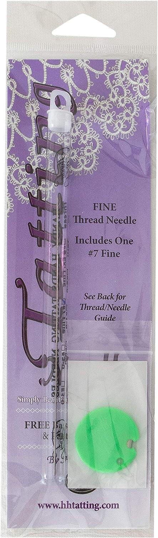 B00114M5UM Handy Hands N7 Tatting Needle, 7, Gray 81UOMgJS6HL