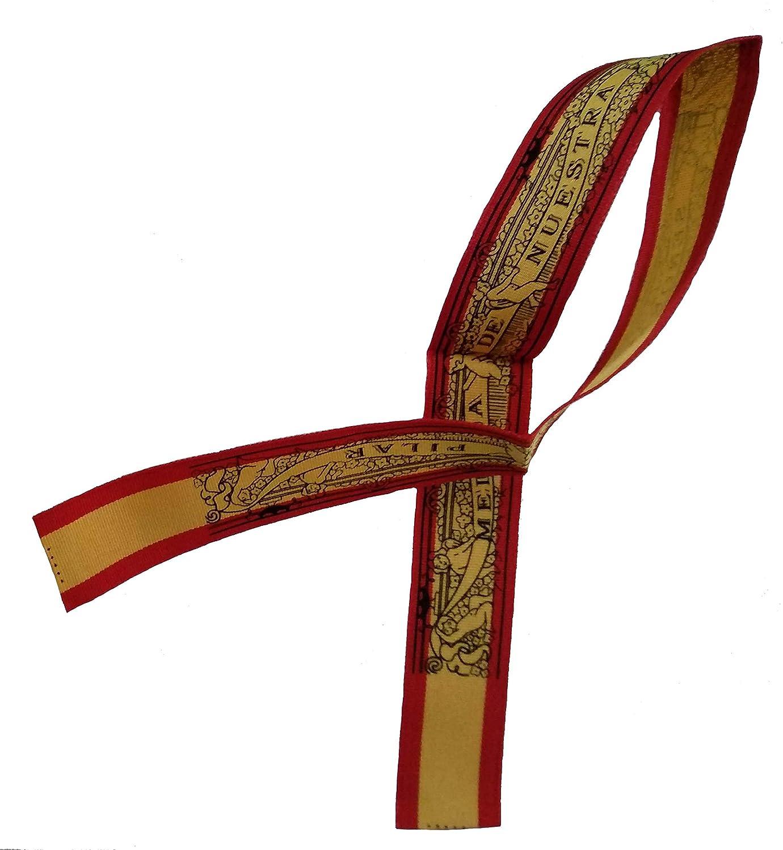 DRW Cinta Virgen del Pilar (Bandera de España): Amazon.es: Oficina y papelería