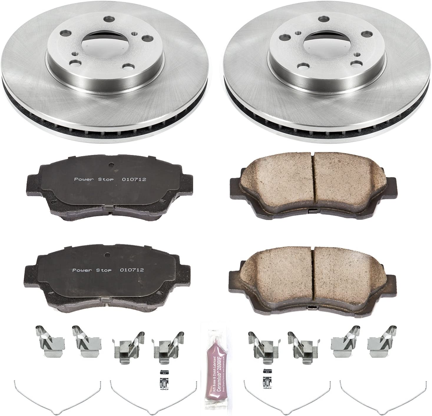 Autospecialty KOE2992 1-Click OE Replacement Brake Kit