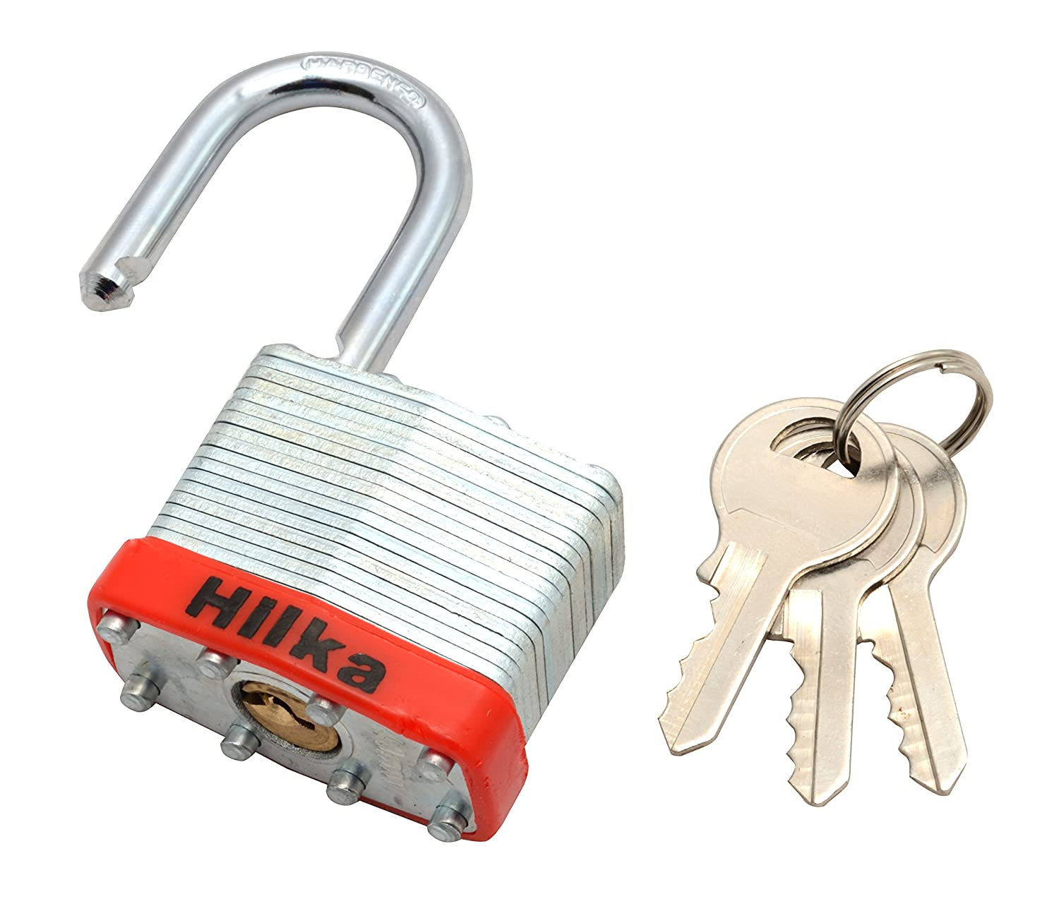 Hilka 70600040 40 mm Laminated Padlock Hilka Tools (UK) Ltd