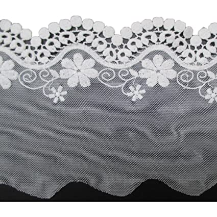 Amazon 5 Yards Crochet Cotton Scallop Embroidered Edging Lace