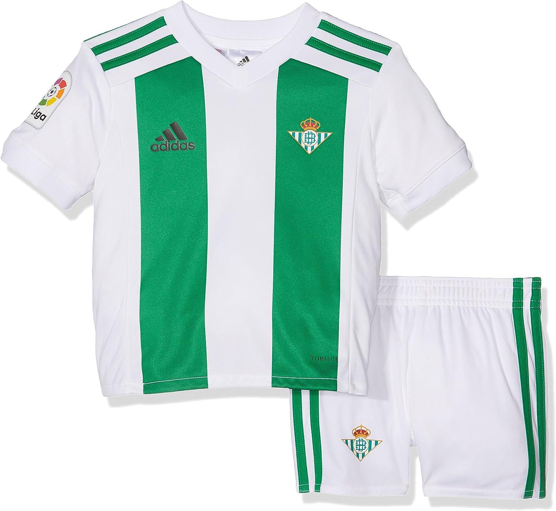 adidas Betis H Mini Conjunto Equipación, Unisex, Blanco, 116: Amazon.es: Deportes y aire libre