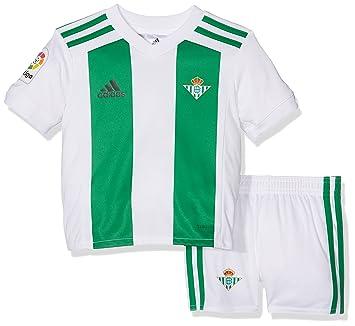 Adidas Betis H Mini Conjunto, Unisex niños, Blanco, 98-2/3 años: Amazon.es: Deportes y aire libre